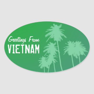 Greetings From Vietnam Stickers