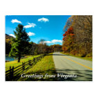 Greetings From Virginia Postcard 3