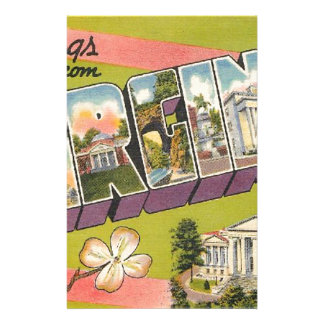 Greetings From Virginia Stationery