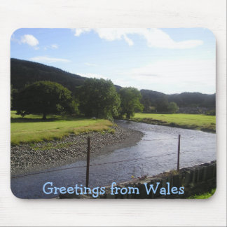 Greetings from Wales Mouse Mat