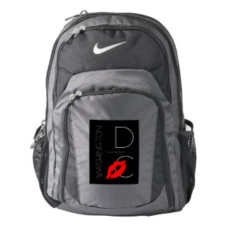 Greetings from Washington D.C. Red Lipstick Kiss Backpack