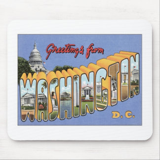 Greetings From Washington, D.C. USA Mouse Pad