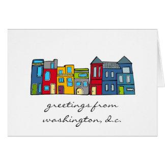 Greetings from Washington DC Card