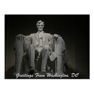 Greetings From Washington DC Postcards