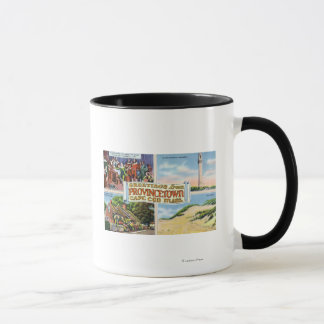 Greetings From with Scenic Scenes Mug