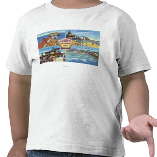 Greetings From with Scenic Views Tee Shirts