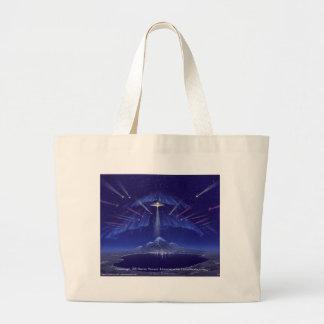 Greetings, Greetings!,  Steven Vincent Johnson... Jumbo Tote Bag