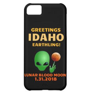 Greetings Idaho Earthling! Lunar Eclipse 1.31.18 iPhone 5C Case