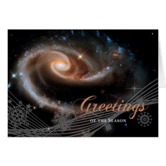 Greetings of the Season - Hubble Space Telescope Greeting Card