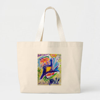 Greetings with Color by Piliero Jumbo Tote Bag
