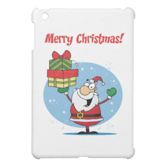 Greetings With Santa Claus iPad Mini Cover