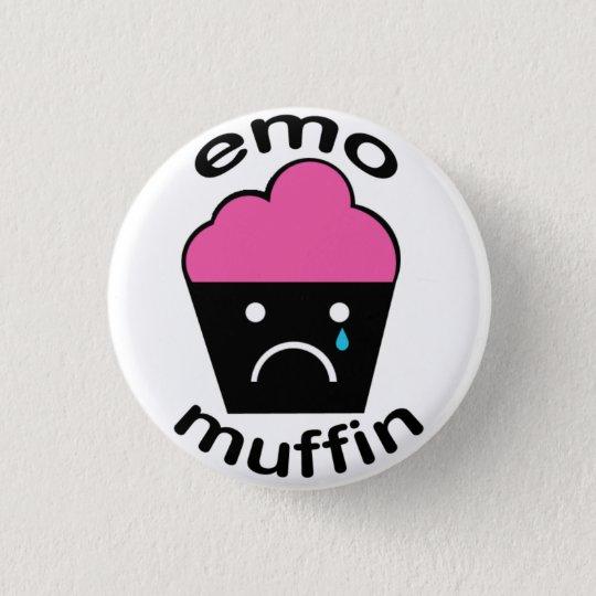 Greg the Emo Muffin 3 Cm Round Badge
