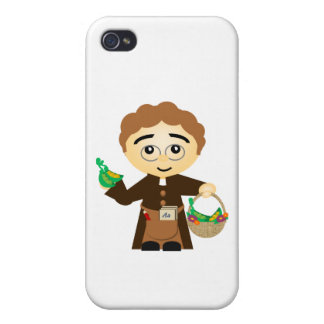 Gregor Mendel Covers For iPhone 4