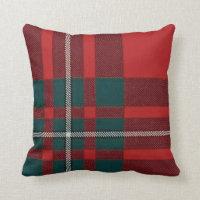 Gregor Plaid Tartan Pillow