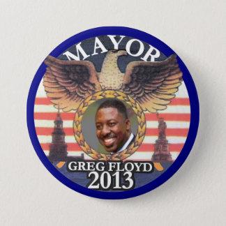 Gregory Floyd for NYC Mayor 2013 7.5 Cm Round Badge