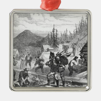 Gregory Gold Diggings, Colorado Christmas Ornament