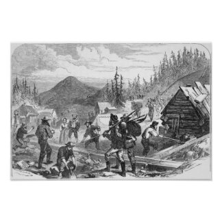 Gregory Gold Diggings, Colorado Poster