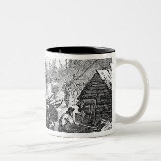 Gregory Gold Diggings, Colorado Two-Tone Coffee Mug