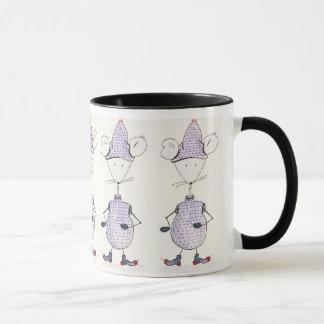 Grelotes, mice mug
