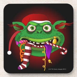 Gremlin Eating Candy Coaster