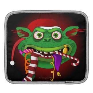 Gremlin Eating Candy iPad Sleeve