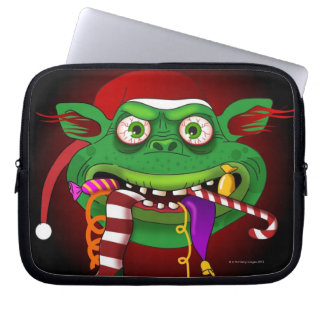 Gremlin Eating Candy Laptop Sleeve