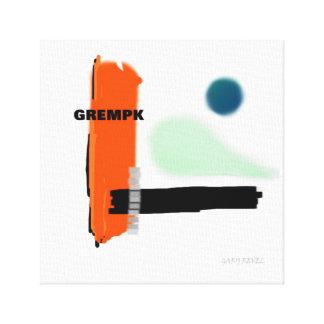GREMPK Concept Art Canvas Print Gary Revel