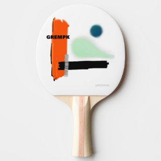GREMPK concept art of Gary Revel Ping Pong Paddle