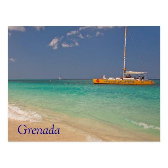 Grenada Beach Postcard