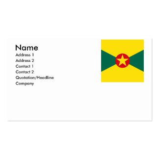Grenada Business Card Templates