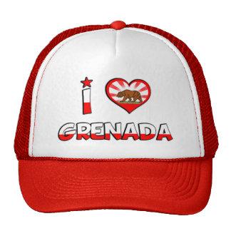 Grenada, CA Mesh Hat