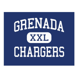 Grenada Chargers Middle Grenada Mississippi Postcard