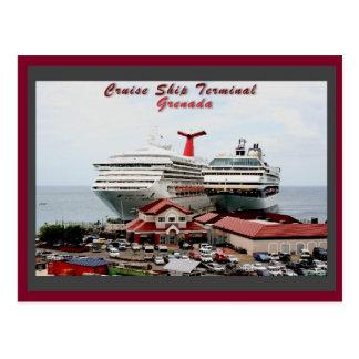 Grenada Cruise Ship Terminal Postcard