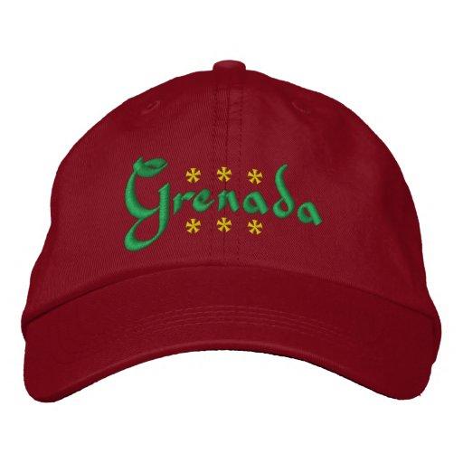 Grenada Embroidered Baseball Cap