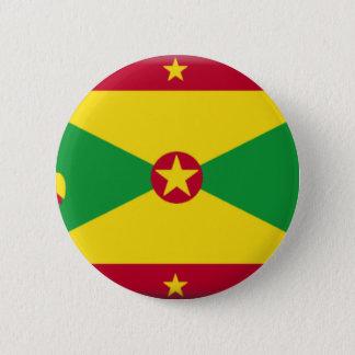 Grenada Flag 6 Cm Round Badge