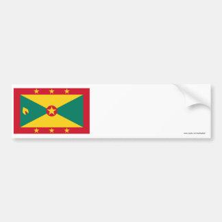 Grenada Flag Bumper Stickers