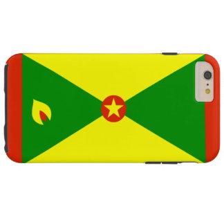 Grenada flag tough iPhone 6 plus case