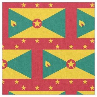 Grenada Flag Fabric