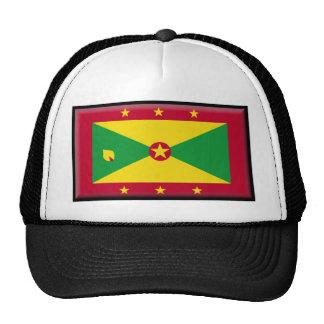 Grenada Flag Trucker Hats