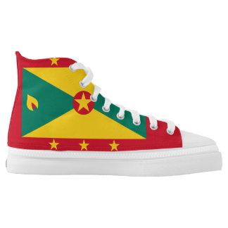 Grenada Flag High Tops