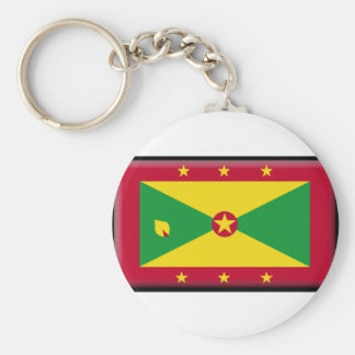 Grenada Flag Key Chain