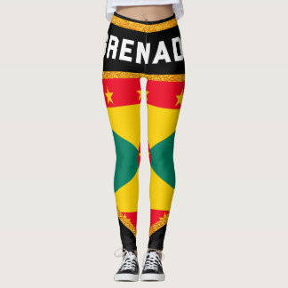 Grenada Flag Leggings