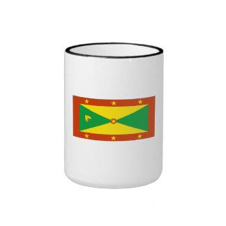 Grenada Flag Coffee Mugs