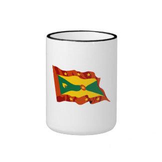 Grenada Flag Coffee Mug