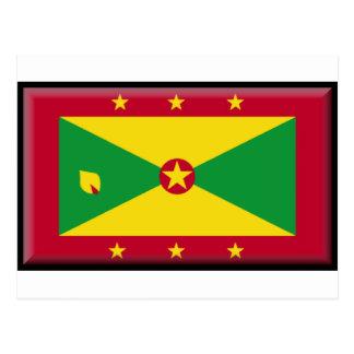Grenada Flag Postcards