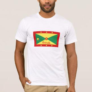 Grenada flag souvenir tshirt