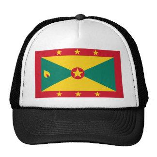 Grenada, Greenland flag Mesh Hat