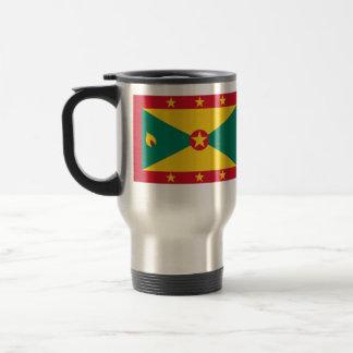 Grenada, Greenland flag Mug