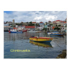 Grenada Harbour Photo Postcard