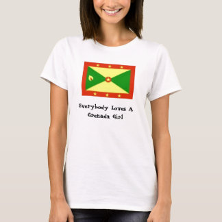 Grenada images, Everybody Loves A Grenada Girl T-Shirt